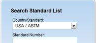 ASTM Materials and Standards: Step 2